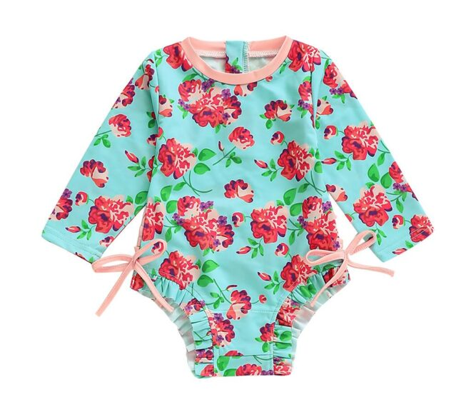 Are Long Sleeve Swimsuits Hot For Babies?